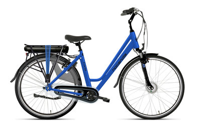 Hollandia Fronta N7 - elektrische fiets - blauw