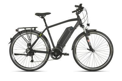 Rivel Aspen - elektrische fiets - Heren - Mat zwart