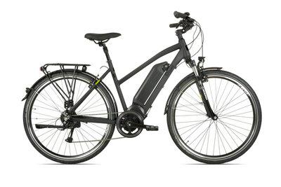 Rivel Aspen - elektrische fiets - Dames - Mat zwart
