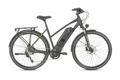 Rivel Pike - elektrische fiets - Dames - Mat zwart