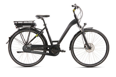 Rivel Jackson - elektrische fiets - Mat zwart - Unisex