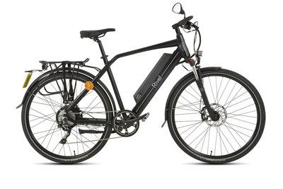 Rivel Daytona - speedpedelec / elektrische fiets - Mat zwart - Herenmodel